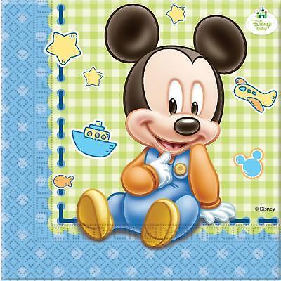 Disney Baby Mickey Mouse Servietten Kindergeburtstag Baby Shower