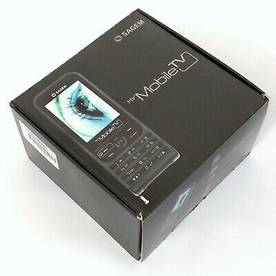 Sagem my MobileTV GSM Unlocked European Dual Band Camera Cell Phone, +MOBILE TV (Band Gsm Cell Phone)
