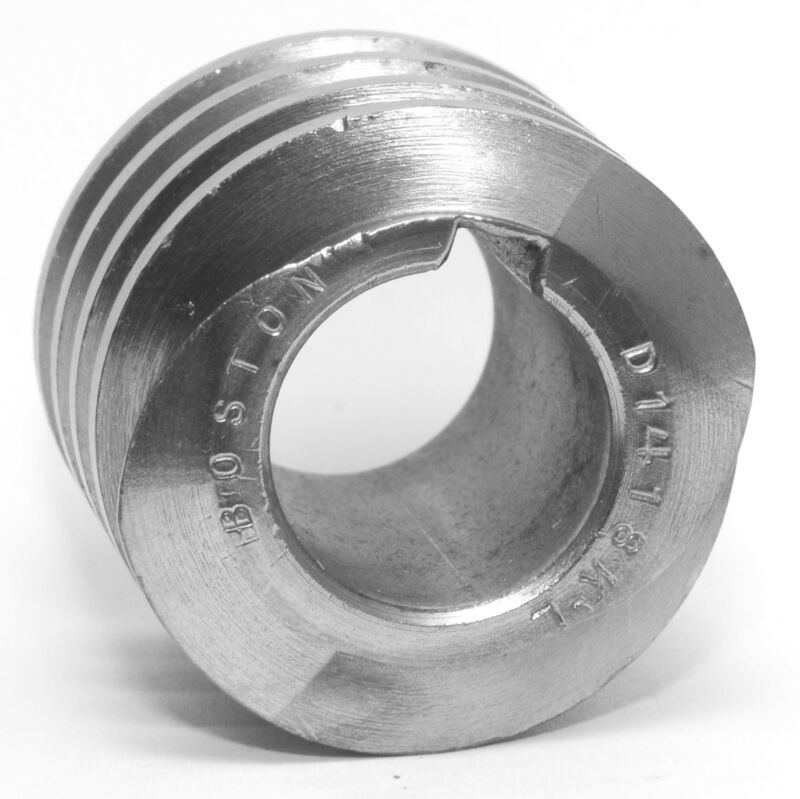"""NEW Boston Gear D-1418-KL Worm  0.75"""" Bore 10 Pitch"""