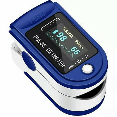 Fingertip Pulse Oximeter Heart Rate Blood Oxygen Perfusion Index In Usa
