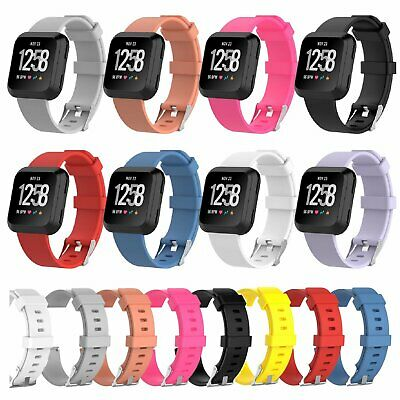 Sports Strap For Fitbit Versa Smart Watch Bands Silicone Bracelet Wrist Band Jewelry & Watches