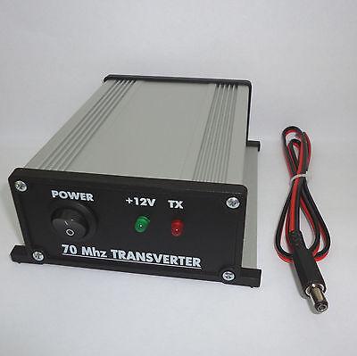 70 to 28 MHz ASSEMBLED TRANSVERTER 4m 70mhz VHF UHF Ham Radio DX ()