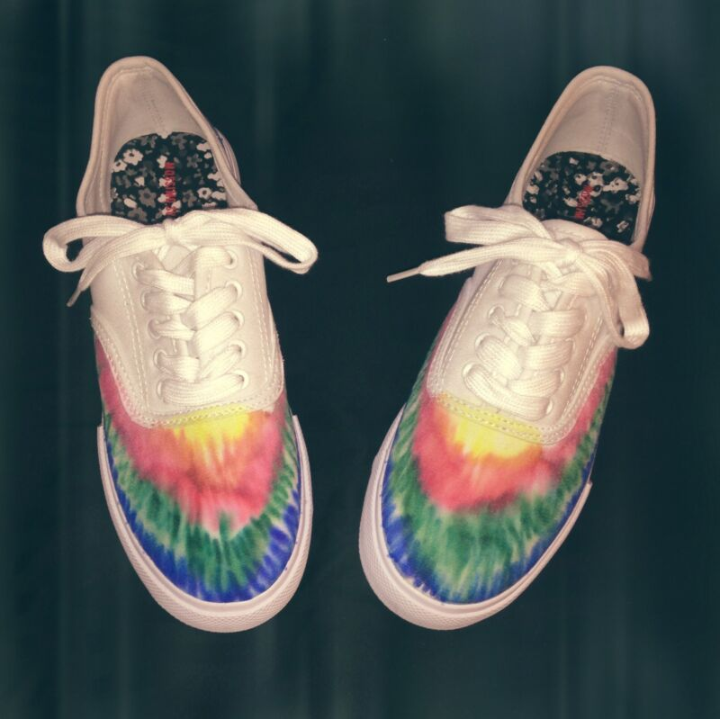 diy tie dye shoes with sharpies ebay