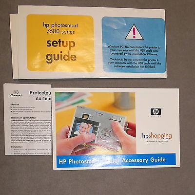 Ephemera Paper Manual Printer HP 7600 Guide CD Disc CD Lot