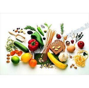 Quadro moderno poster arredo casa food frutta verdura for Poster arredo casa