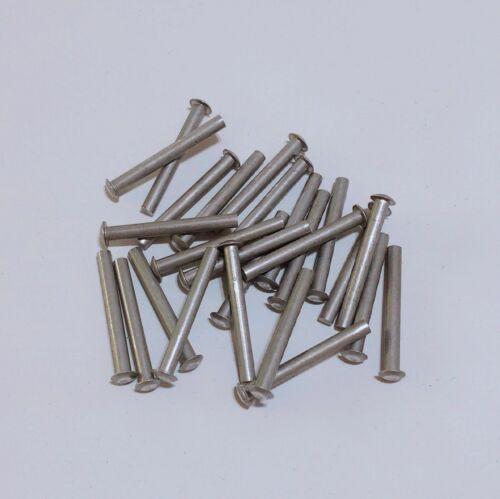 3/16 X 1-11/16 Solid Aluminum Buck Rivets - Aircraft, Trailer, Boat, Blacksmith