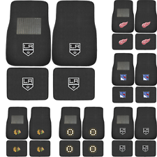 Official Licensed NHL Pick Your Team Car Truck Front & Back Carpet Floor Mats
