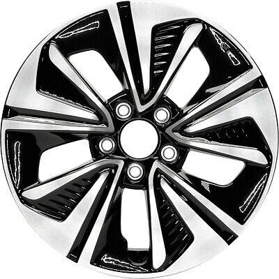 Aluminum Alloy Wheel Rim 17 Inch Fits 2016-2018 Honda Civic 5-114.3mm 5 Spoke