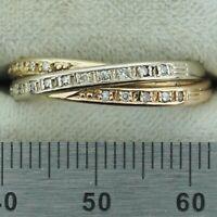 Ring Gold 585 mit Diamanten, Diamantring, tricolor Ring Rheinland-Pfalz - Friedelsheim Vorschau