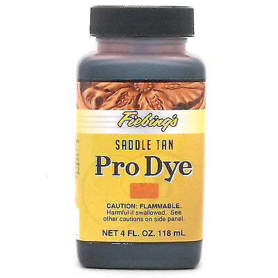 Professional Oil Dye Saddle Tan 4 oz (118 mL) 2110-04 by Fiebing's
