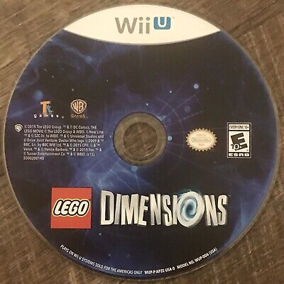 LEGO Dimensions (Nintendo Wii U, 2015) Video Game Disc Only
