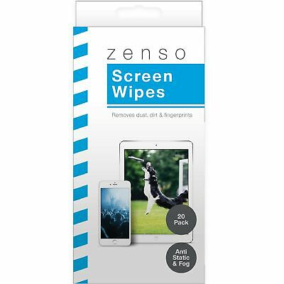20 x LCD Laptop Screen Cleaning Wet Wipes TV Computer iPad M