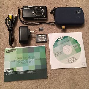 Samsung PL120 Point and Shoot Camera