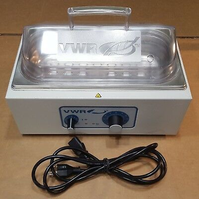 Vwr Analog Water Bath With Cover 2l Capacity With Overheat Protection 89032-198