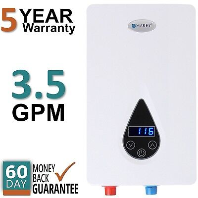ECO150 Electric Tankless Hot Water Heater Instant On Demand Whole House  3.5 GPM