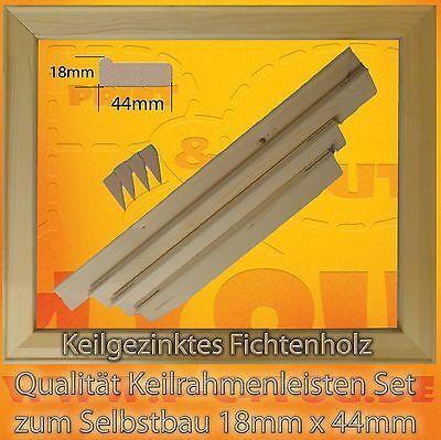 """Keilrahmenleisten Set, Keilrahmen Bausatz, 60 cm x 90 cm  """"ohne Leinwand"""""""