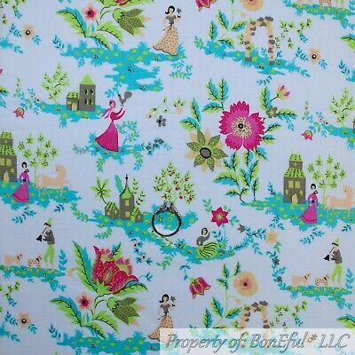 BonEful Fabric Cotton Quilt VTG White Pink Hawaiian Scenic Flower Dog BTHY SCRAP](Chicken Dog Costume)
