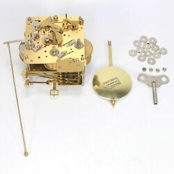 Hermle Westminster Chime Mantel Clock Movement 341-021A/45cm w/ Pendulum KK1709