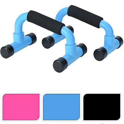 2x Push-Up Bars Foam Handles Press Pull Up Stand Home Exercise Workout Gym Chest
