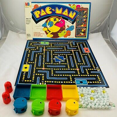 1982 Pac-man Board Game by Milton Bradley Complete in Great Condition FREE SHIP