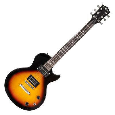 Rock Tile (B-WARE Rocktile L-100 E-Gitarre 2x Humbucker Pickup Linde Korpus Sunburst Kabel)