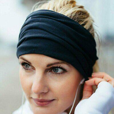 Women Lady Wide Sports Yoga Headband Stretch Hairband Elastic Hair Band Turban Clothing, Shoes & Accessories