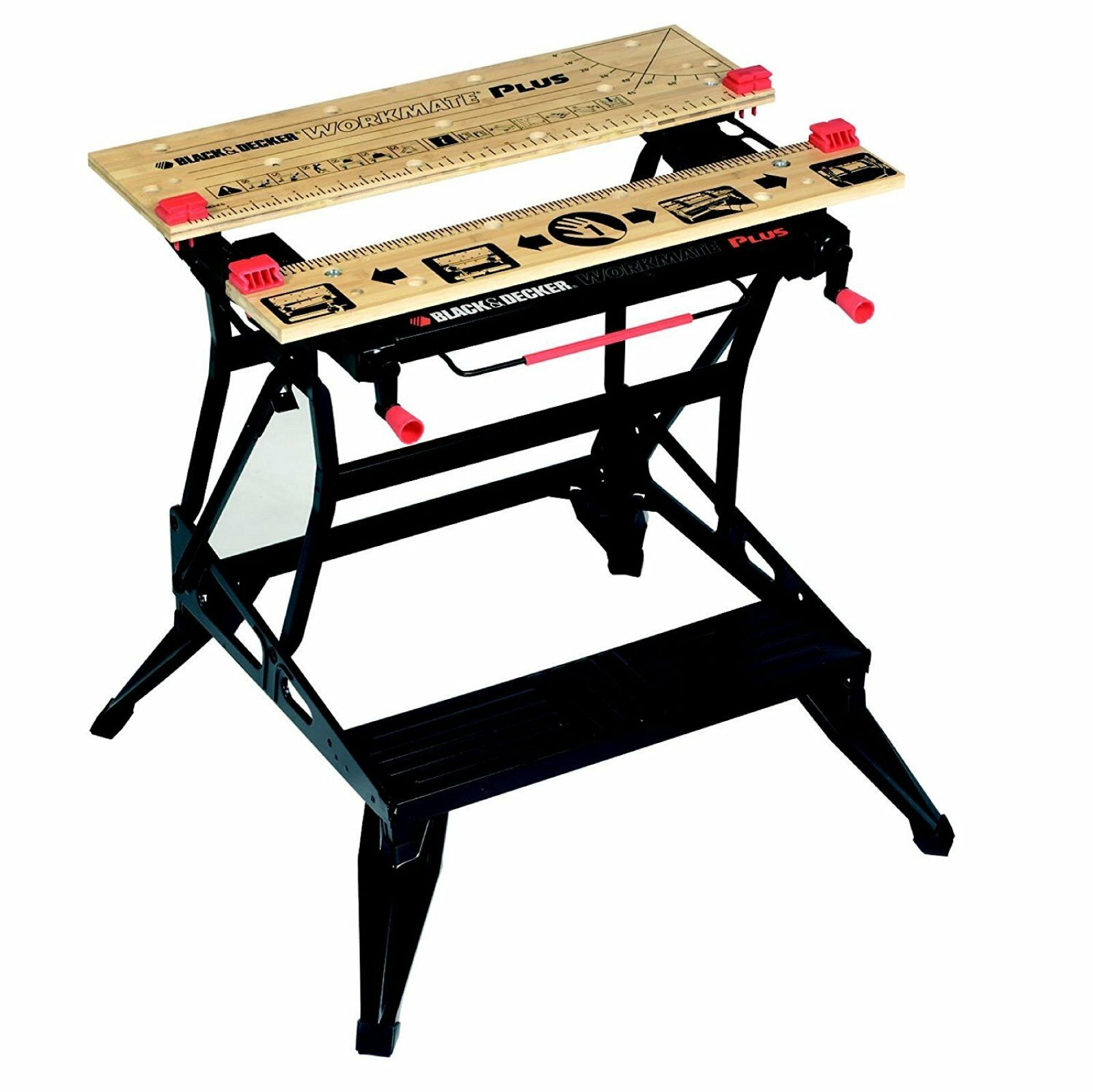 BLACK+DECKER Workmate WM825-XJ style=Very large vice/bench Model=B ...