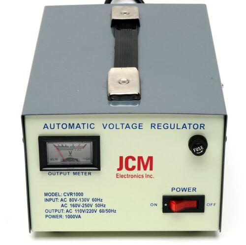 1000W 110V 220V VOLTAGE CONVERTER TRANSFORMER STEP UP DOWN REGULATOR STABILIZER