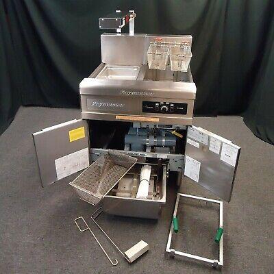 Frymaster Commercial Electric Fryer W Filter System - Efficient 480 Volt 3 Phase