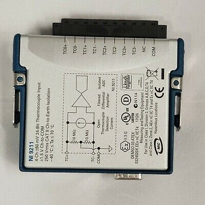 Ni Usb-9211a Data Acquisition Module Usb Carrier Or Thermocouple Measurement