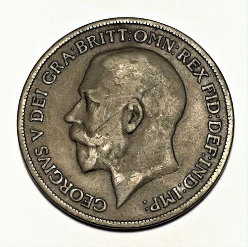 1918 KN Great Britain Penny, George V, KM# 810, VF  #2669