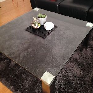 Pier Nick Scali glass coffee table Croydon South Maroondah Area Preview