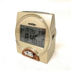 Reizen Radio Controlled British Talking Alarm Clock (Model TKC101U)