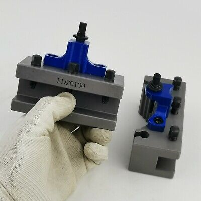 2 Pcs Ed20100 Turning Tool Holders For E5 Or E Multifix 40 Position Tool Post