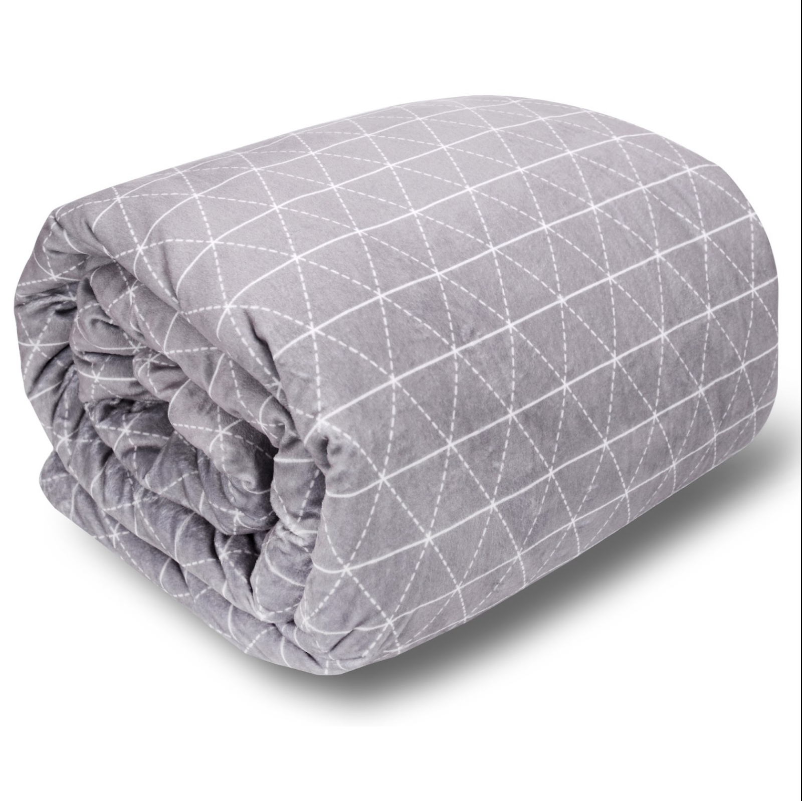Luxury Weighted Blanket for Adults & Removable Cover Set For