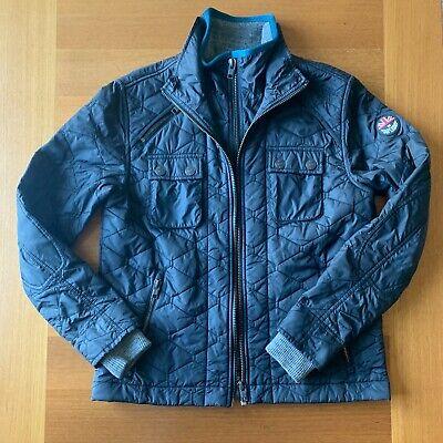 Superdry nylon quilted double zip coat $145 double zip S Small