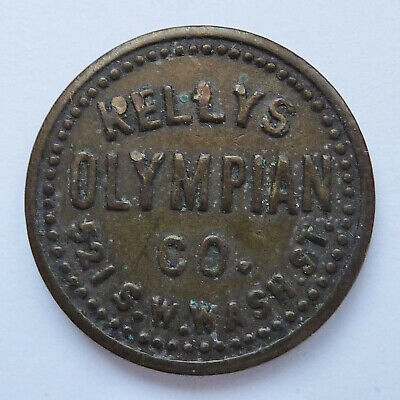 KELLYS OLYMPIAN CO - PORTLAND OREGON ~ ADVERTISING TRADE TOKEN # 4649](Portland Trading Co)