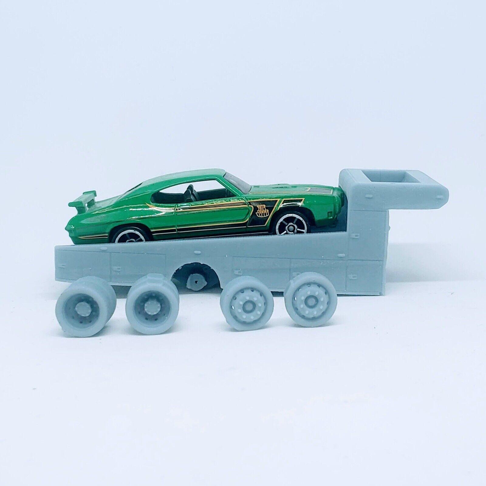 Ramp Truck 1:64 Scale Custom Accessory For Hot Wheels