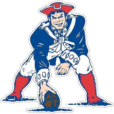 (Boston New England Patriots Retro NFL Vinyl Decal / Sticker Sizes Free Shipping)