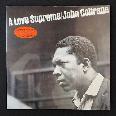 John Coltrane A Love Supreme SEALED LP vinyl reocrd