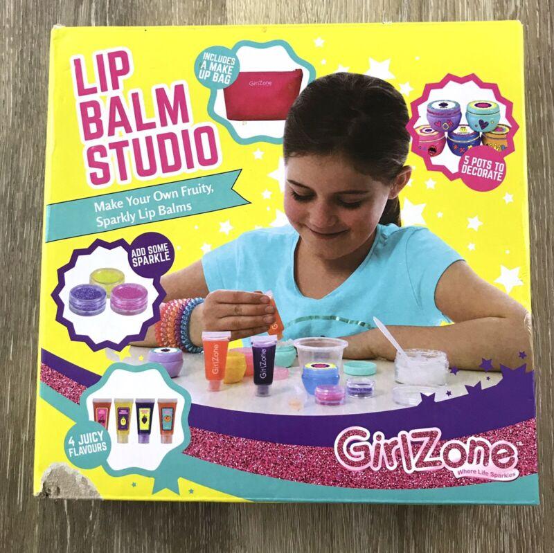 GirlZone Lip Balm Studio Make Your Own Kids Crafts