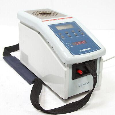 Omega Cl-750a Dry Block Temperature Calibrator 425c Max