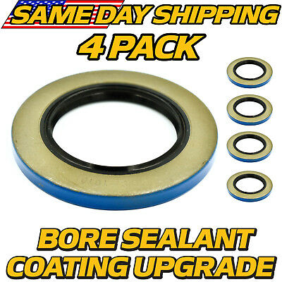 4pk 10-10 21333tb Double Lip Seals For 6k 7k Trailer Axles Wbore Seal Upgd