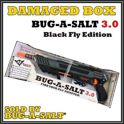Damaged Box Authentic BUG-A-SALT 3.0 Black Fly Insect Eradication Salt Gun