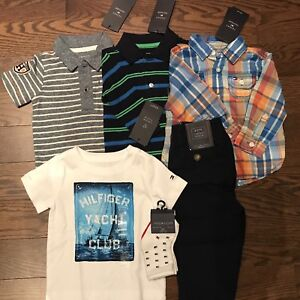 NEW Tommy Hilfiger Boy Clothing Lot (6-9 months)
