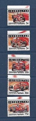 GIBRALTAR - 993 - 998  - MNH - 2003 - RACE CARS