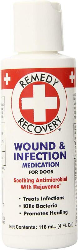 Remedy + Recovery Wound and Infection Medication for Dogs, 4