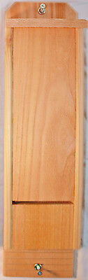 Single Chamber Cedar Bat House Hand Crafted Natural Pest Control