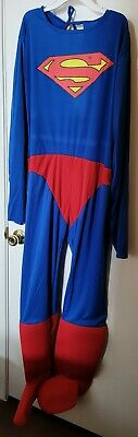 Classic Superman Adult Male Costume Men Superhero Adults Halloween Cosplay Suit