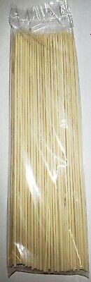 100 Bamboo Skewers 12 Inch Bambo Wooden Sticks BBQ Shish Kabob kofta Party (Bamboo Shish Kebab Skewers)